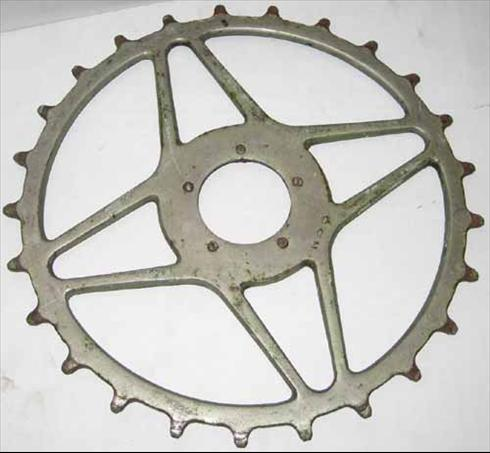 Inch pitch chainring